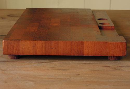 厚みのあるチーク材,アンティーク,カッティングボード,まな板,北欧雑貨,デンマーク,チーク,DIGSMED,ディグスメッド