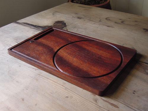 サーブ用のウッドプレートとしても使えそうです,アンティーク,カッティングボード,まな板,北欧雑貨,デンマーク,チーク材