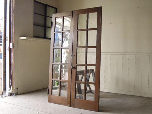 裏側,アンティーク,両開き扉,観音開き,ドア,建具,木製,洋館,店舗