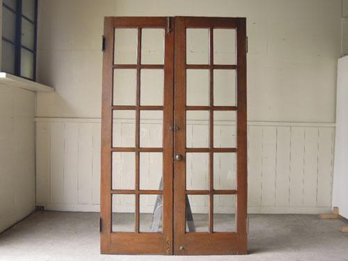 裏側正面,アンティーク,両開き扉,観音開き,ドア,建具,木製,洋館,店舗
