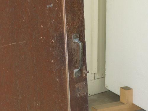取っ手,アンティーク,ドア,木製,建具,ペイント,ブルーグレー,アトリエ,小屋