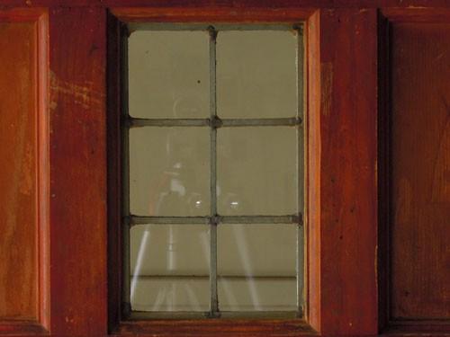 シンプルなステンドグラス,アンティーク,ドア,建具,木製,ステンドグラス,格子,ペイント,白,リノベーション