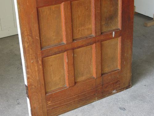 経年変化した木部,アンティーク,ドア,建具,木製,ステンドグラス,格子,ペイント,白,リノベーション