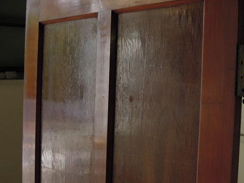 鏡板,アンティーク,ドア,建具,木製,リノベーション,DIY