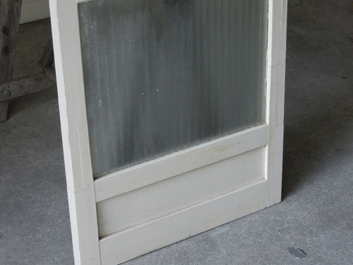 ペイントの雰囲気,アンティーク,ドア,建具,木製,ペイント,白,リノベーション,ガラス戸