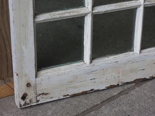 優しい風合い,アンティーク,窓,建具,木製,格子,ペイント,白,リノベーション