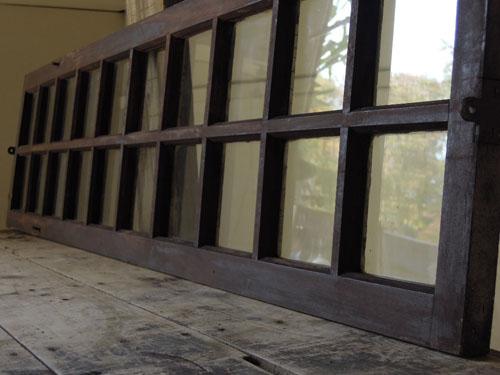 シンプルな格子状,アンティーク,窓,建具,明かり取り,欄間,リノベーション