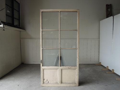 正面,アンティーク,ドア,建具,ペイント,白,茶,リノベーション,店舗