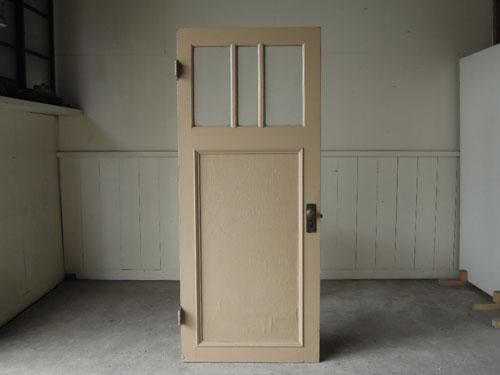 正面,アンティーク,ドア,片開き戸,ペイント,白,建具,リノベーション,店舗