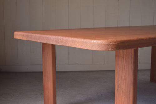 アンティーク,ヴィンテージ,北欧家具,デンマーク,チーク材,ダイニングテーブル,無垢材