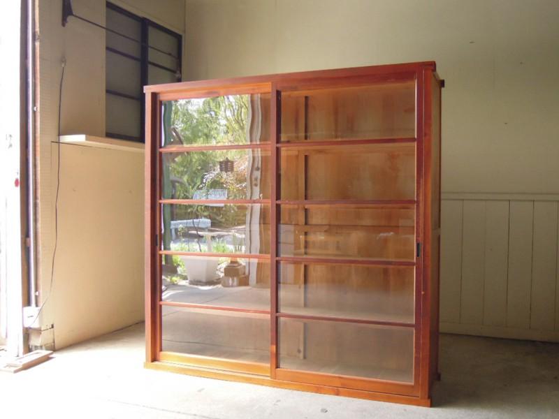 アンティーク,ヴィンテージ,古道具,食器棚,本棚,書棚,棚,リファクトリー,refacory