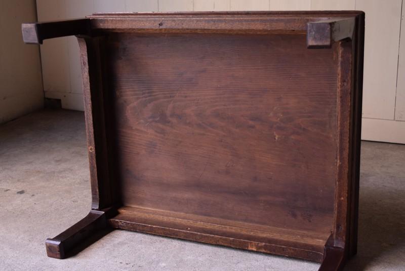 裏,アンティーク,座卓,ローテーブル,一枚板,無垢,家具,古道具