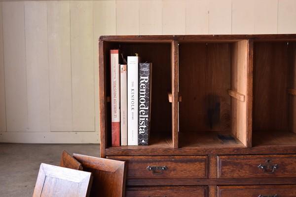 木製本棚,陳列棚,アンティーク,ブックシェルフ