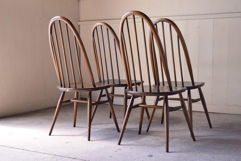背面,ヴィンテージ,アンティーク,アーコール,ERCOL,椅子,チェア,クエーカーチェア,ウィンザーチェア,イギリス