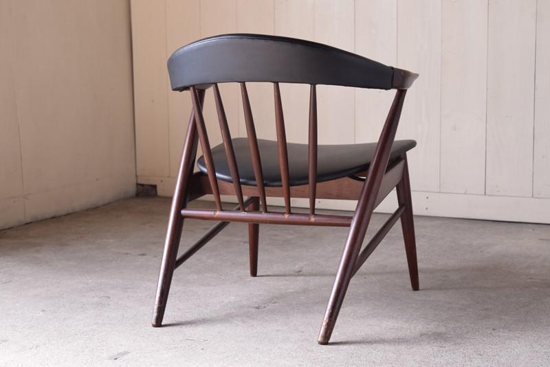 背面,ヴィンテージ,アンティーク,アームチェア,イージーチェア,椅子,チェア,ブナ材,楢材