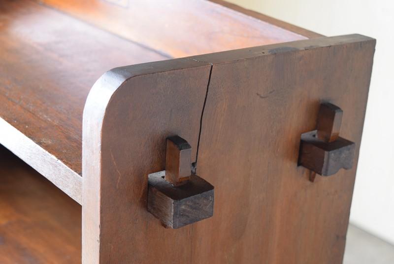 無垢材特有の割れあり,アンティーク,本棚,オープンラック,収納,陳列,ショップ