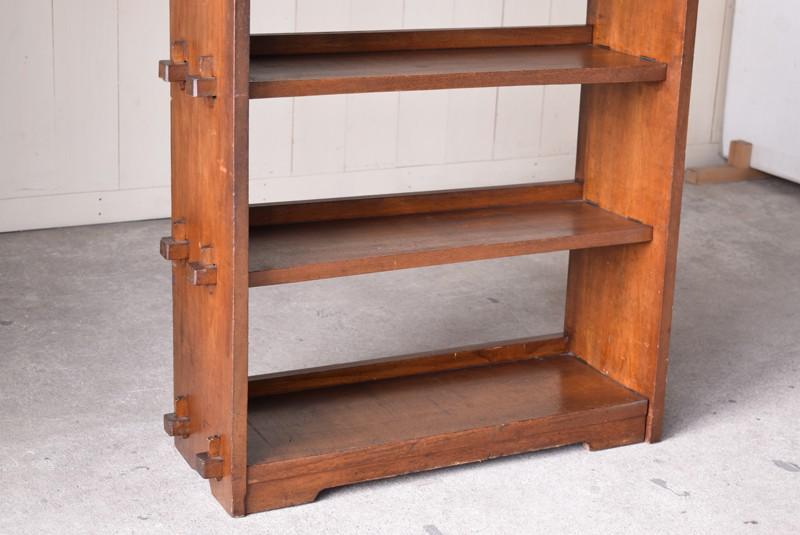 雑誌サイズも収納可能,アンティーク,本棚,オープンラック,収納,陳列,ショップ