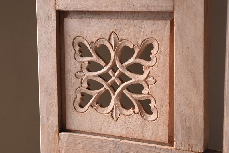 上品な透かし彫り,アンティーク,衝立,パーテーション,透かし彫り,格子,チーク,植物,ディスプレイ