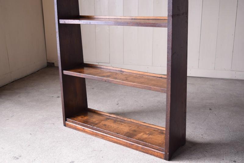 棚板の雰囲気,アンティーク,ヴィンテージ,本棚,オープンラック,陳列棚