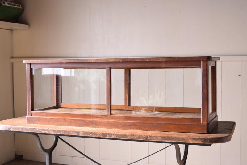 アンティーク,陳列,ガラスケース,コレクションケース,木製,ショーケース,ディスプレイ,