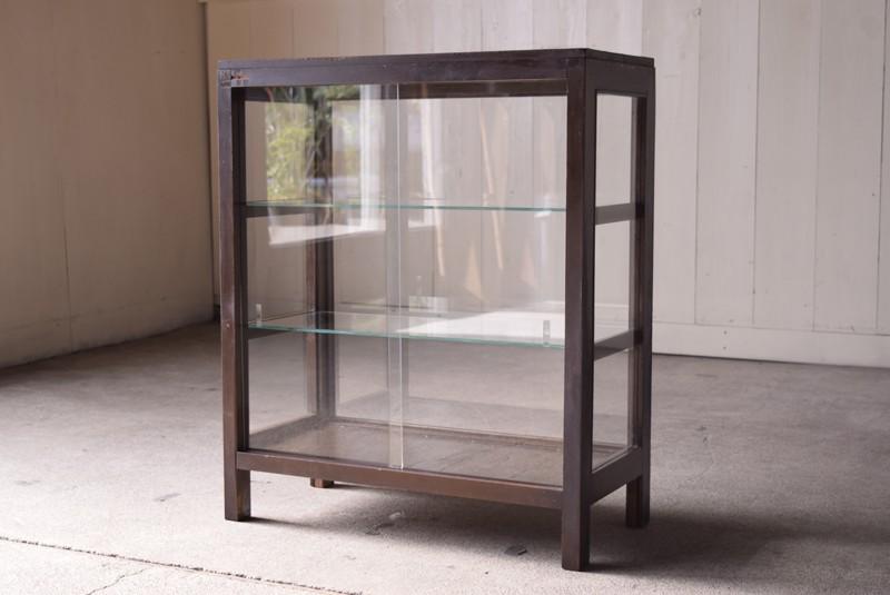ガラス戸,アンティーク,ガラスショーケース,ガラスケース,陳列棚,レジカウンター,食器棚