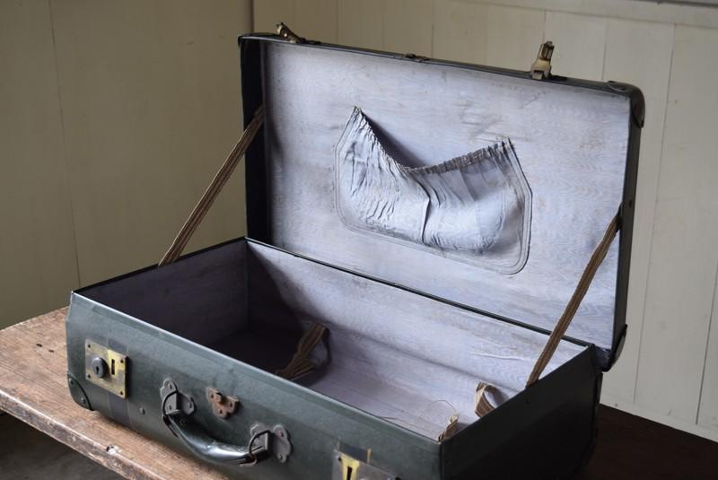 ポケット付き,アンティーク,ヴィンテージ,トランク,旅行,衣装トランク,ディスプレイ