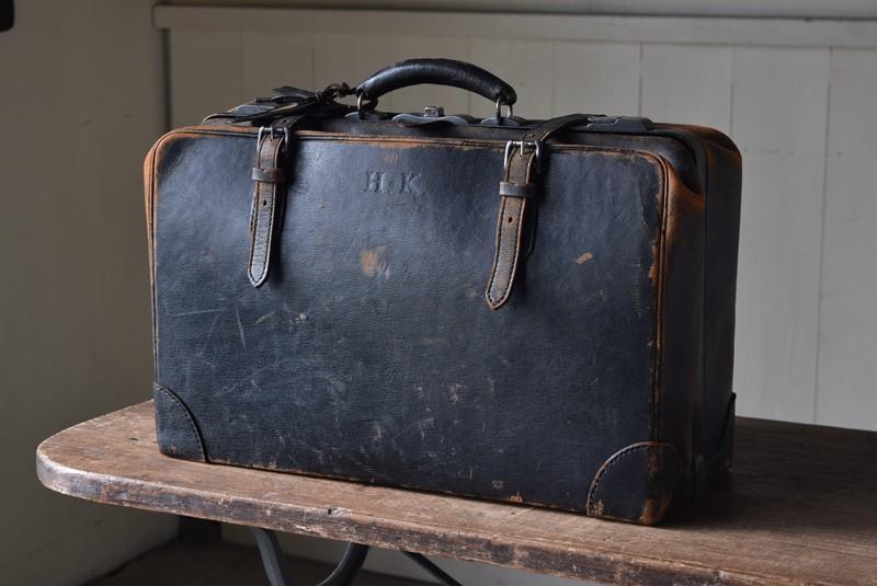 アンティーク,ヴィンテージ,旅行カバン,トランク,ドクターズバッグ,MITSUKOSHI,収納,ディスプレイ,Refactory antiques