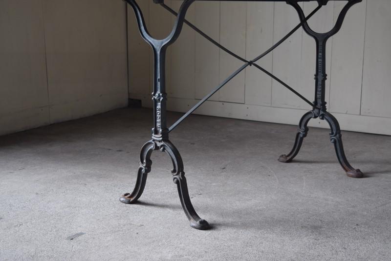 フランス製のアイアンレッグ,アンティーク,鉄脚,テーブル,什器,作業台,フランス
