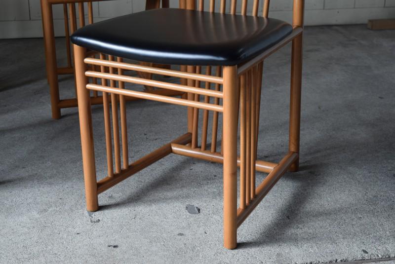 アールデコ,直線デザイン,アンティーク,ヴィンテージ,チェア,椅子,ダイニングチェア