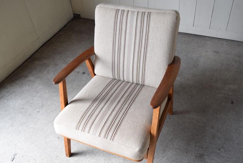 俯瞰,デンマーク家具,北欧家具,イージーチェア,ソファ,ビンテージ,チーク材,オーク材