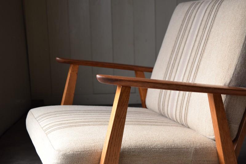 アームとフレーム,デンマーク家具,北欧家具,イージーチェア,ソファ,ビンテージ,チーク材,オーク材
