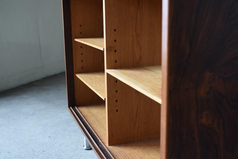 可動棚,棚板,オーク材,デンマーク,ビンテージ,ローズウッド,サイドボード,