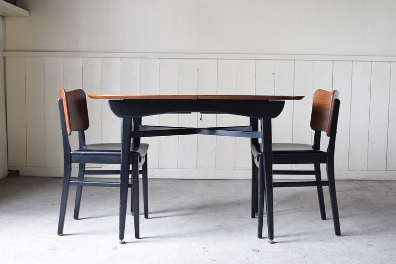 ダイニングセット,バタフライテーブル,エクステンションテーブル,北欧, G-Plan, ダイニングテーブル,イルマリタピオヴァーラ