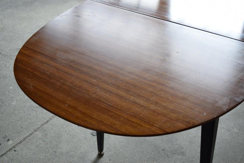 天板のコンディション,エクステンションテーブル,北欧, G-Plan, ダイニングテーブル,イルマリタピオヴァーラ