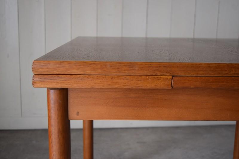伸張式,ヴィンテージ,カリモク,karimoku,テーブル,ダイニングテーブル,エクステンションテーブル