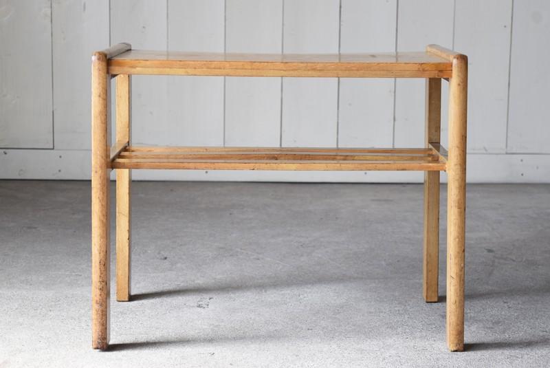 正面,アンティーク,ヴィンテージ,サイドテーブル,ローテーブル,ナイトテーブル