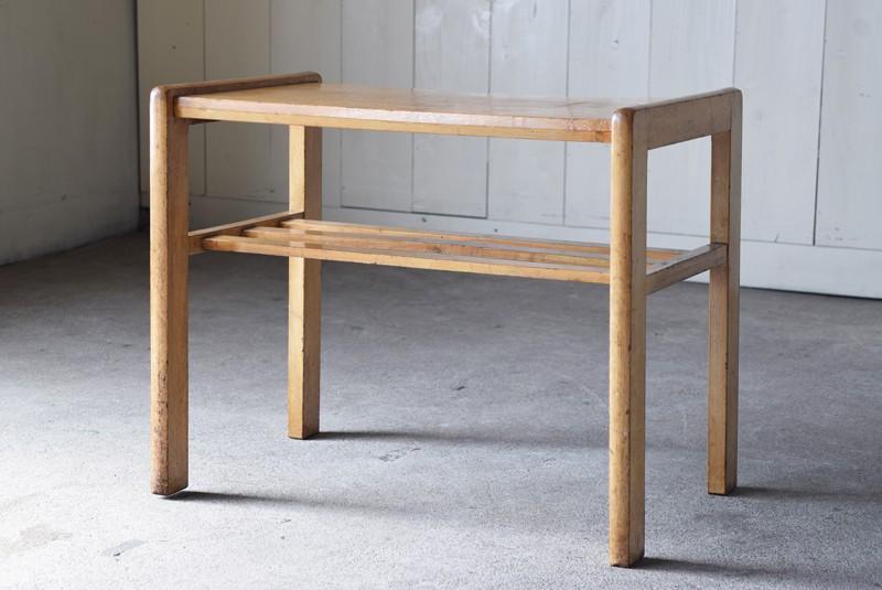 背面,アンティーク,ヴィンテージ,サイドテーブル,ローテーブル,ナイトテーブル