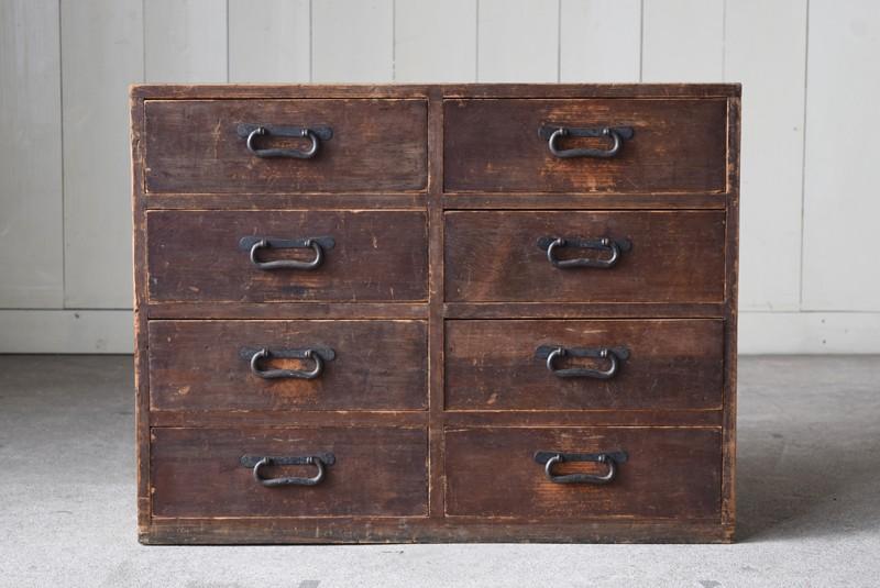 和家具,小引き出し,大正時代,収納,シンプル,民芸,飾り台