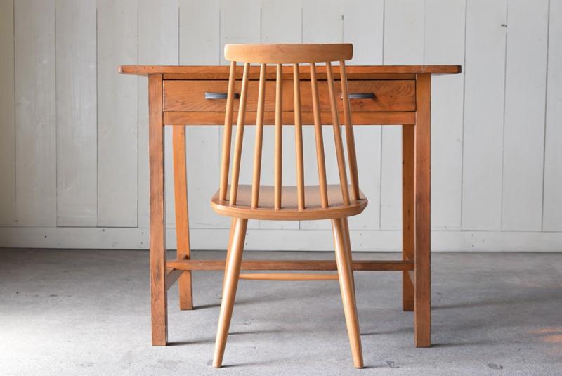 木製デスク,学習机,アンティーク,ヴィンテージ,家具,チェア,椅子