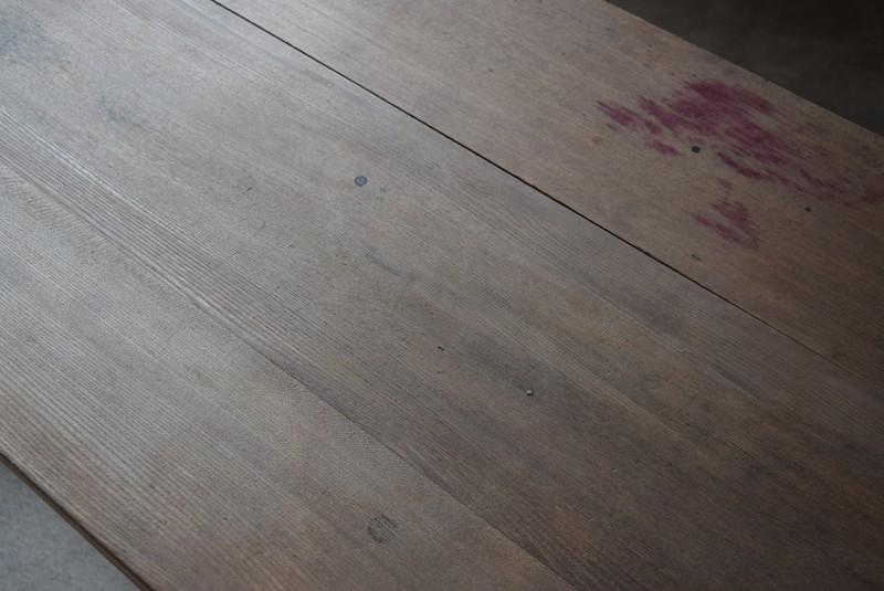 天板の状態,アンティーク,テーブル,陳列台,作業台,カウンター,長テーブル,ワークテーブル,無垢材