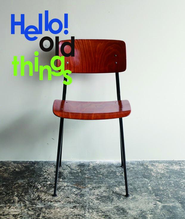 THE CONRAN SHOPではヨーロッパ各地で集められたヴィンテージアイテムの数々を紹介するイベント「Hello!old things」が開催されています。