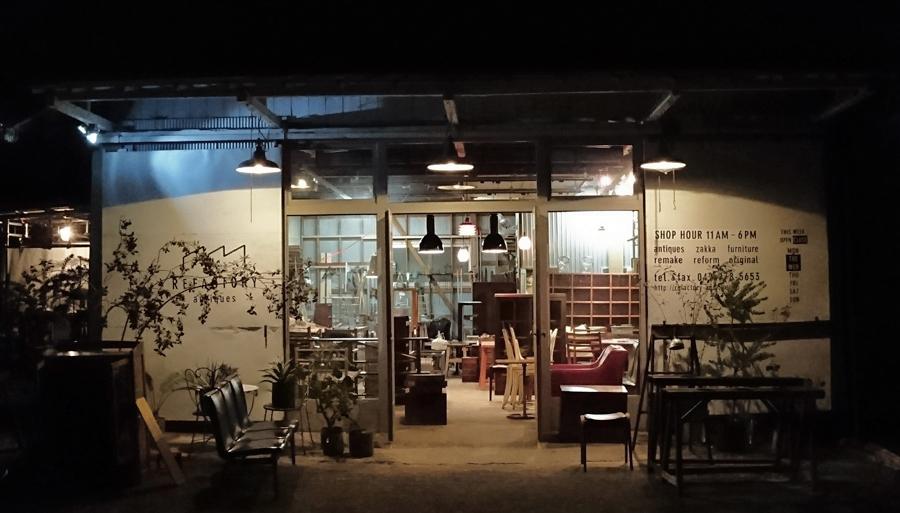 先日の東京蚤の市ではREFACTORY antiquesのブースを楽しんでいただきありがとうございました。