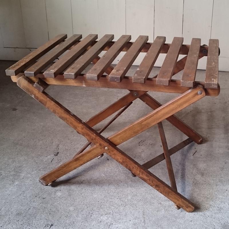ヴィンテージ折りたたみキャンプテーブル