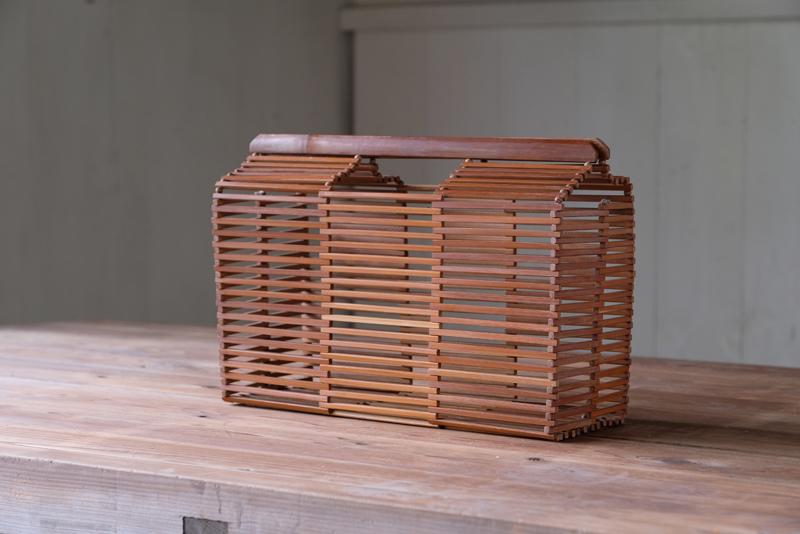 竹製 籠バッグ
