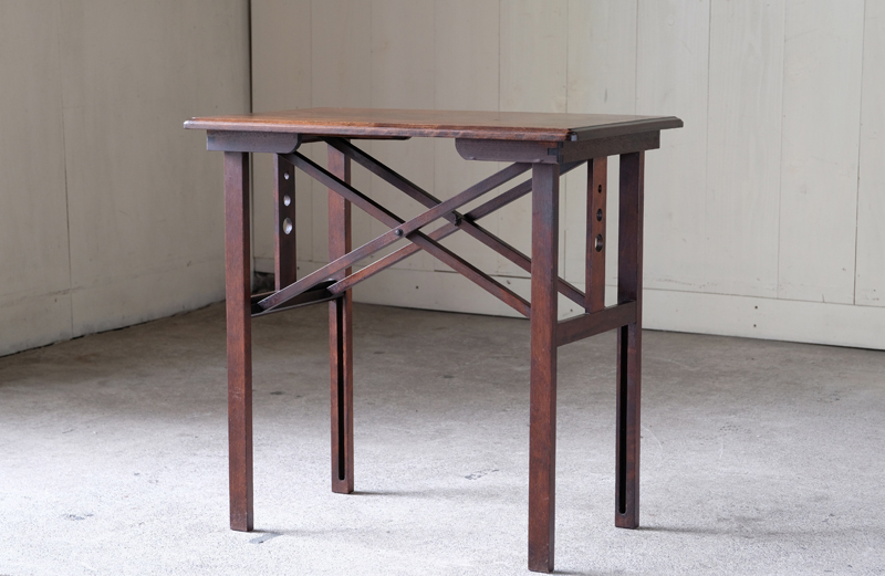 山葉家具 日本楽器製 折り畳みサイド文化テーブル