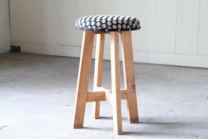 木製 ドットスツール