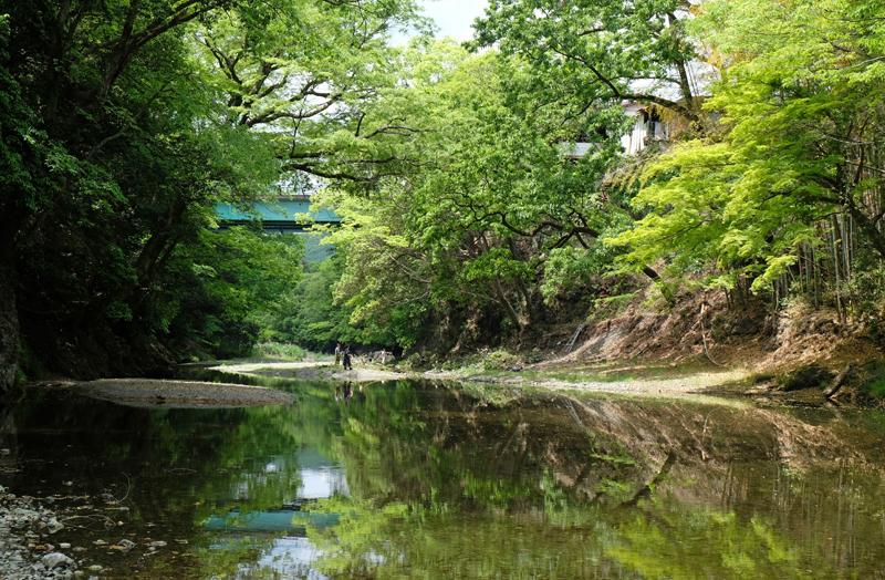 筏を組み名栗川を使って江戸まで流した西川材で栄えた町として有名な飯能
