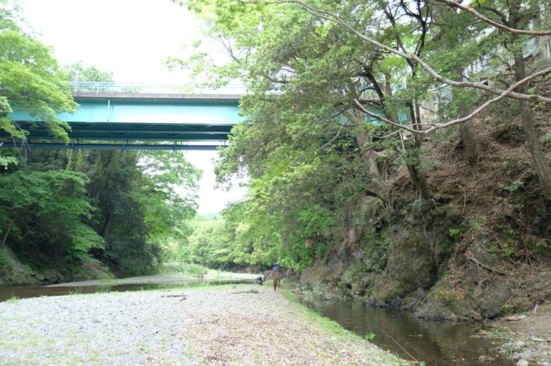 川に落とした丸太や枝を集めるのに川を使い吊り上げ場所まで流す筏流しも目の当たりにし、
