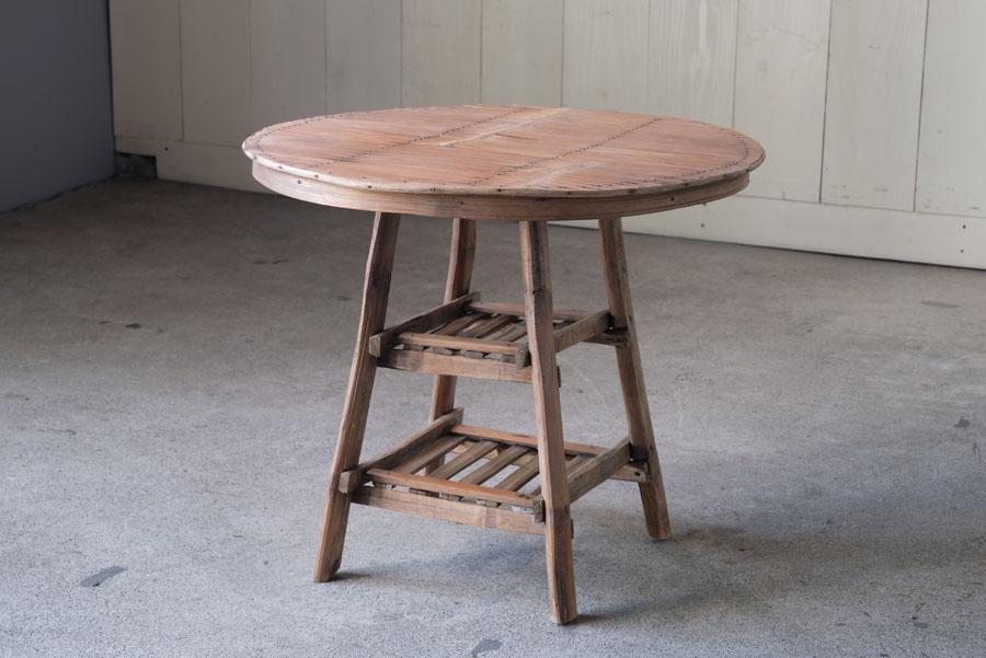 アンティーク 民芸 竹芸コーヒーテーブル