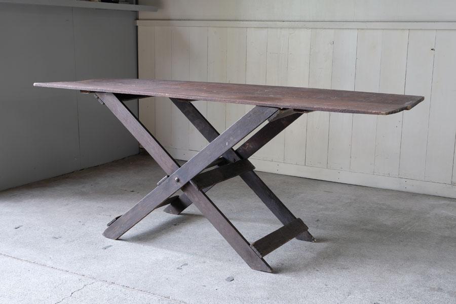 ヴィンテージキャンプフォールディングワークテーブル 作業台